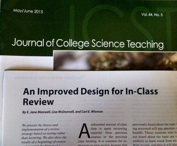 Improving the effectiveness of in-class review
